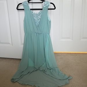 NWOT Small Charlotte russe high low dress